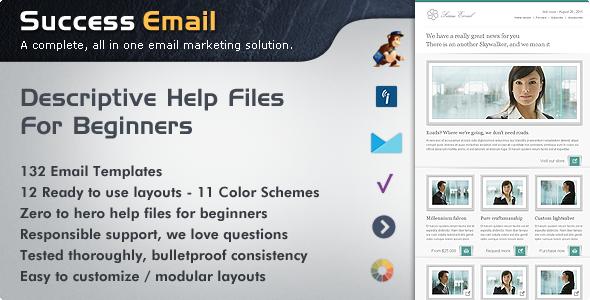 Success Premium Email Newsletter Templates