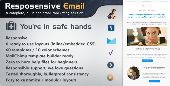 Resposensive – Responsive Email Templates