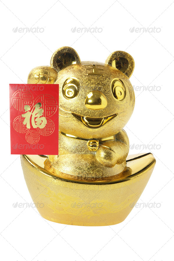 Chinese New Year Ornament - Stock Photo - Images