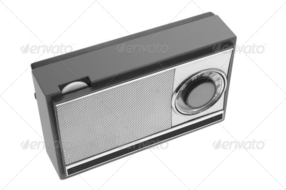 Transistor Radio - Stock Photo - Images