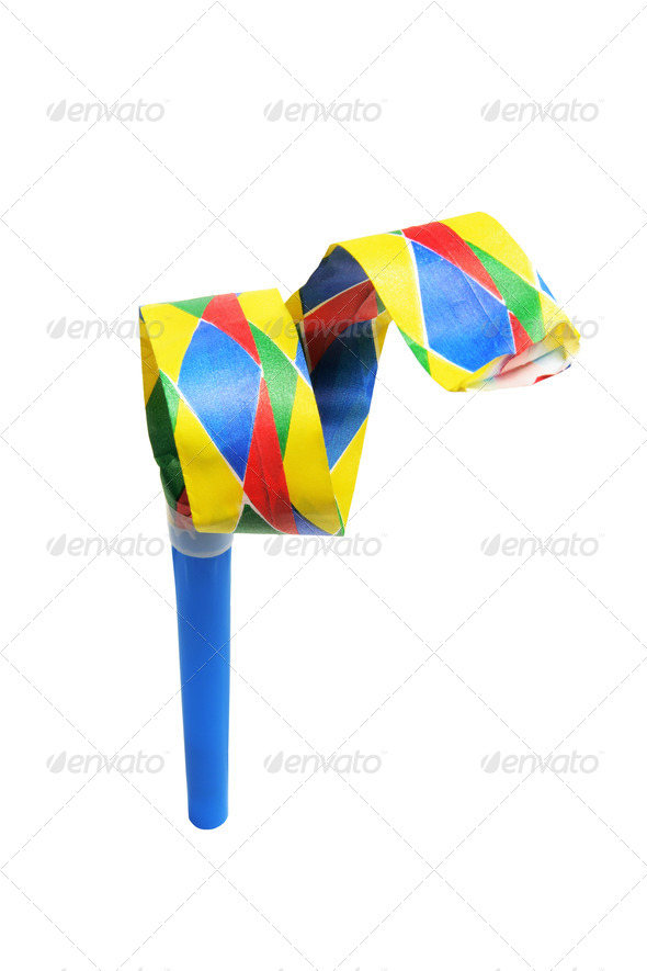Party Blower - Stock Photo - Images