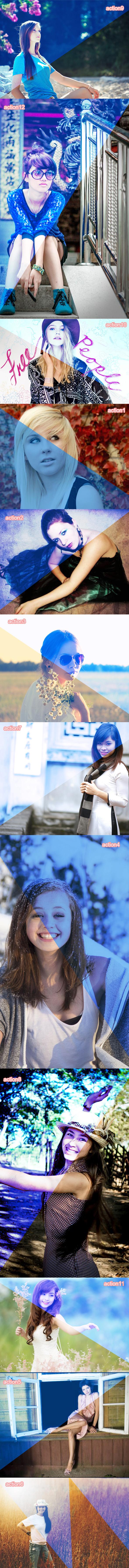 Blue Dream Action - Actions Photoshop