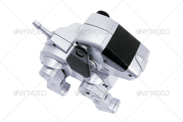 Toy Robot Dog - Stock Photo - Images