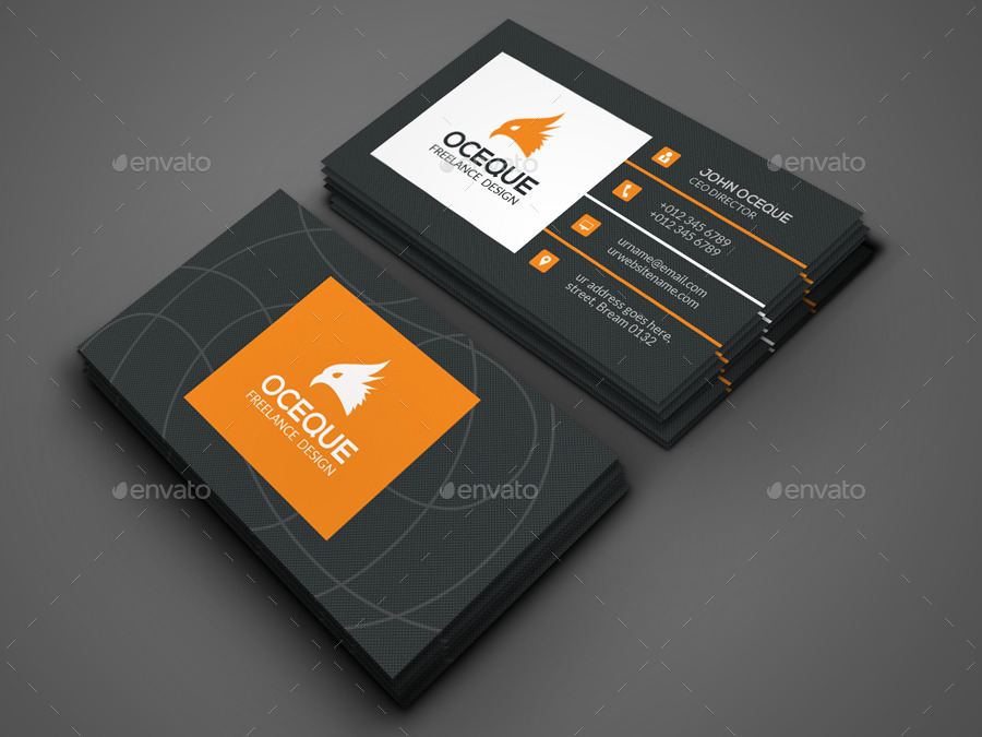 Market Business Card by -axnorpix | GraphicRiver