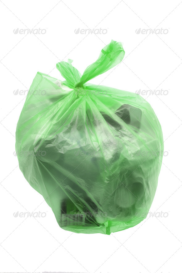 Bag of Garbage - Stock Photo - Images
