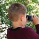 Boy Taking Picture Of Nature - VideoHive Item for Sale