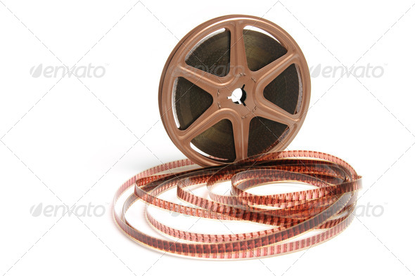 Movie Film Reel - Stock Photo - Images
