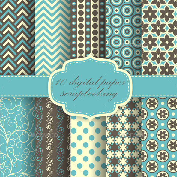 Set of Paper Patterns - Patterns Decorative