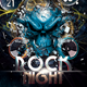 Rock Night - GraphicRiver Item for Sale