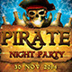 Pirate Night Party Flyer - GraphicRiver Item for Sale