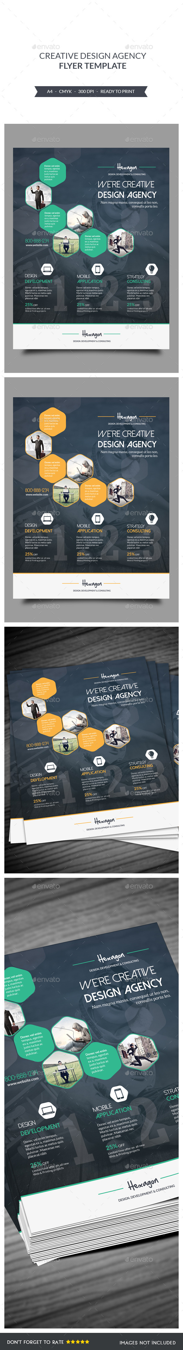 Design Agency Flyers Template - Corporate Flyers