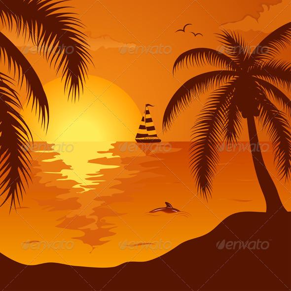 Summer background - Landscapes Nature