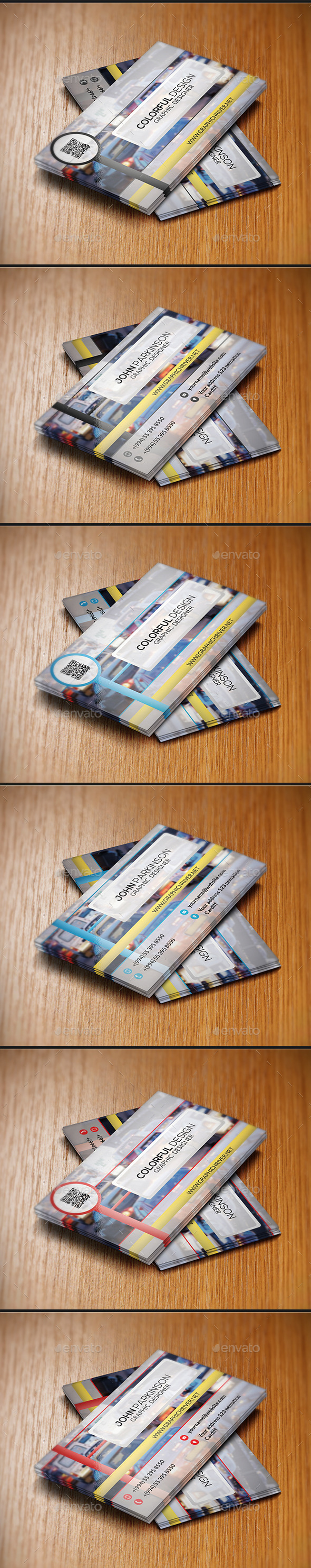Security Traffic Business Card - Creative Business Cards