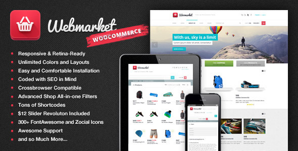 Webmarket – WP Theme for Advanced Online Shops