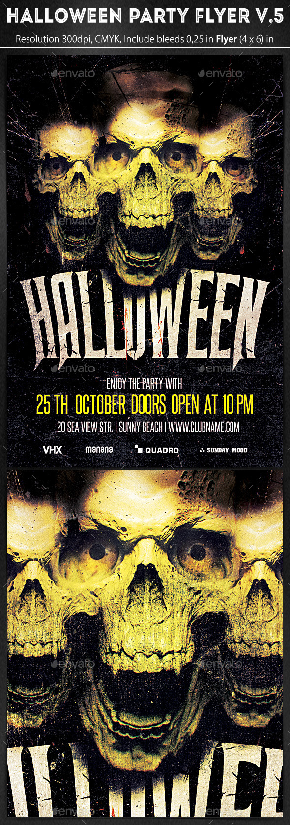 Halloween Party Flyer v.5