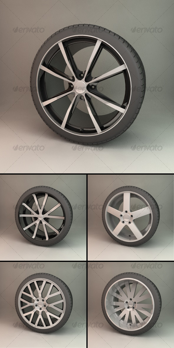 Alloy Wheel Collection