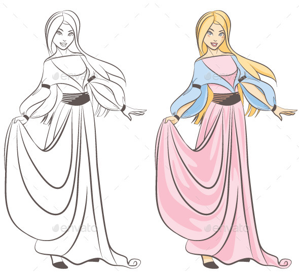 Princess - Characters Vectors