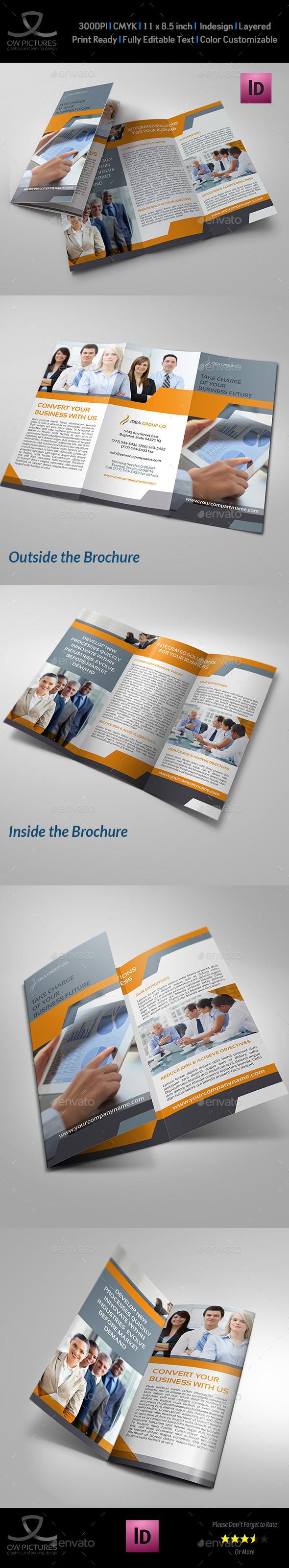 Company Brochure Tri-Fold Template Vol.16 - Corporate Brochures