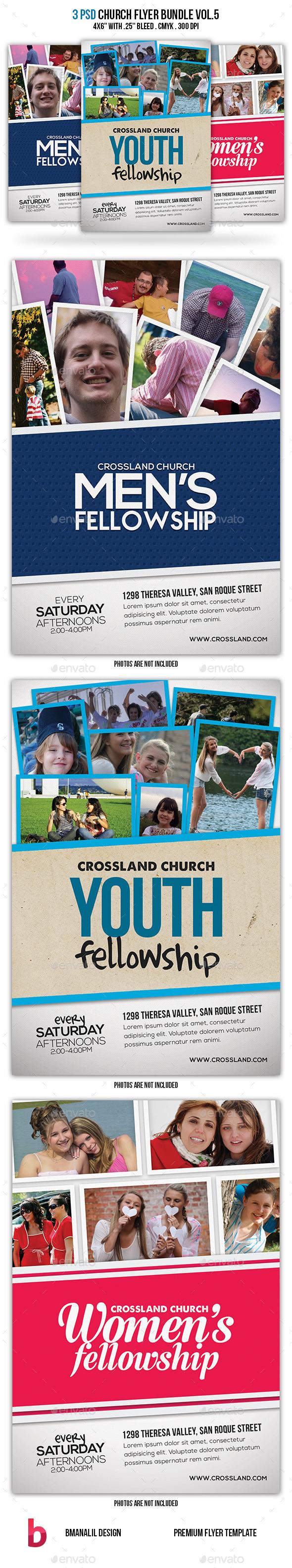 Church Flyer Bundle Vol.5 - Church Flyers