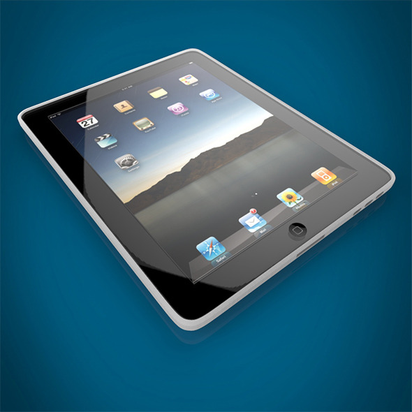 Ipad - 3DOcean Item for Sale