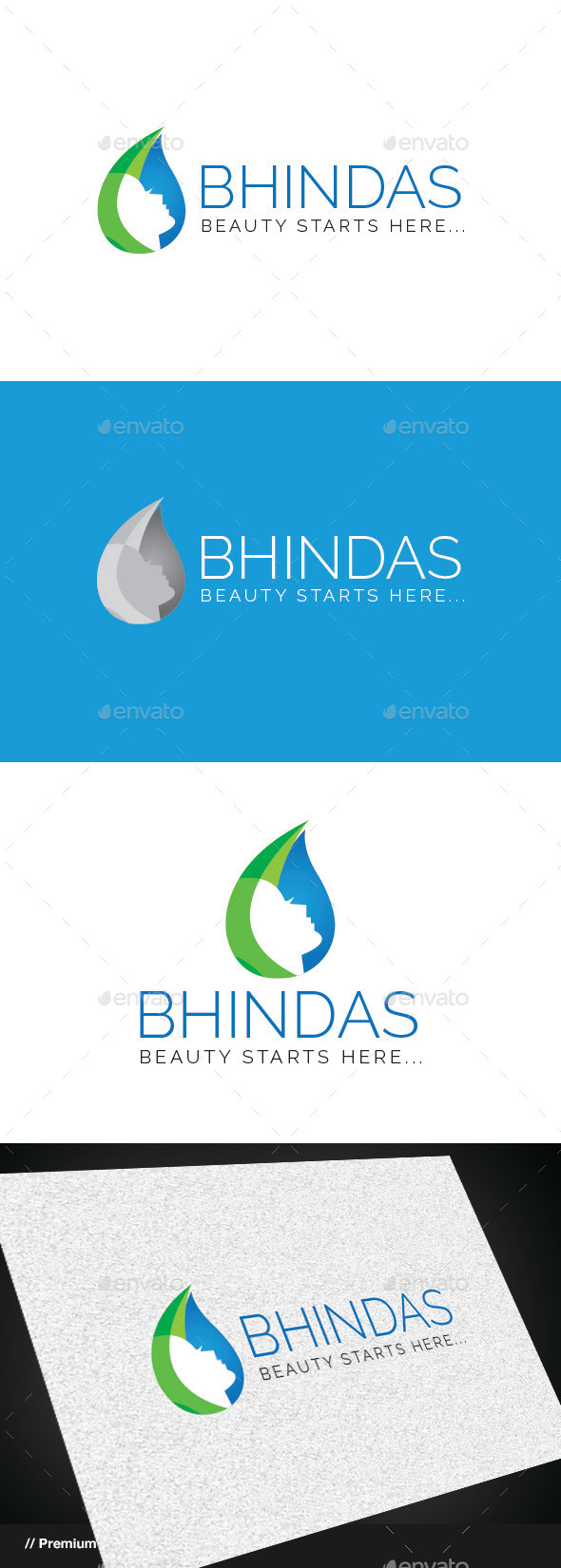 Bhindas Beauty Logo - Nature Logo Templates