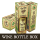 Wine Bottle Package And Bottle Labels - GraphicRiver Item for Sale