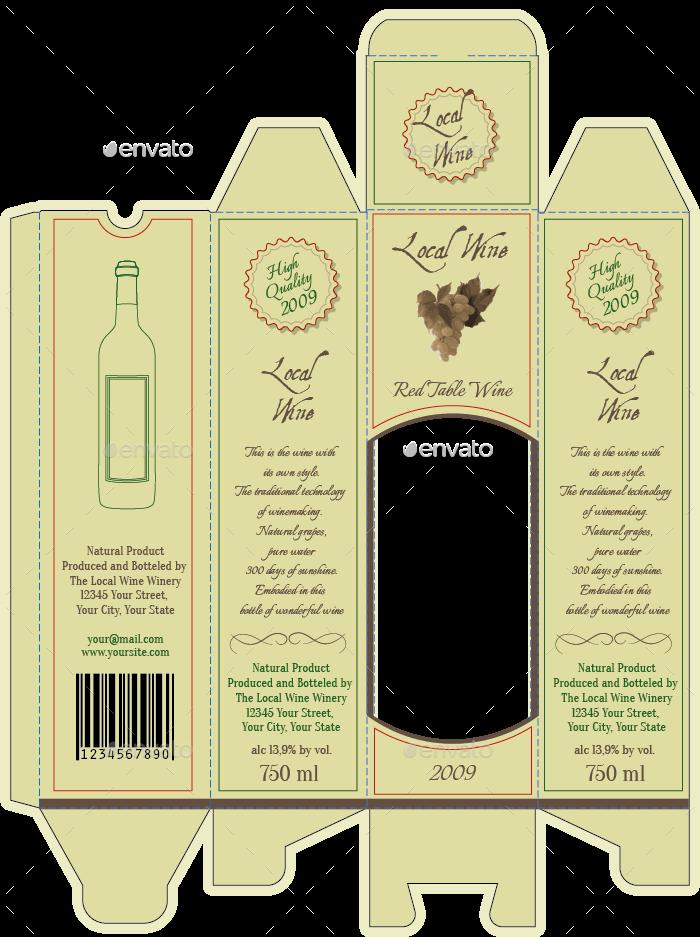wine packaging template - Vatoz.atozdevelopment.co