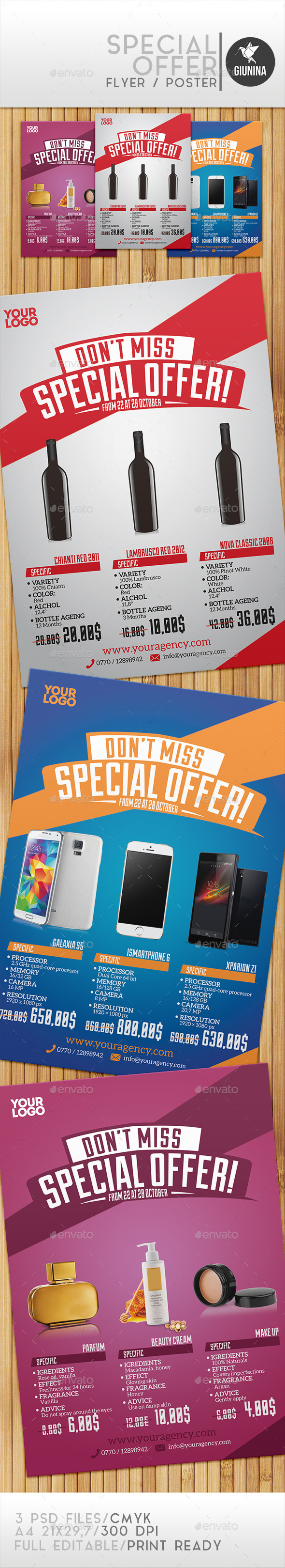 Special Offer Flyer/Poster - Commerce Flyers