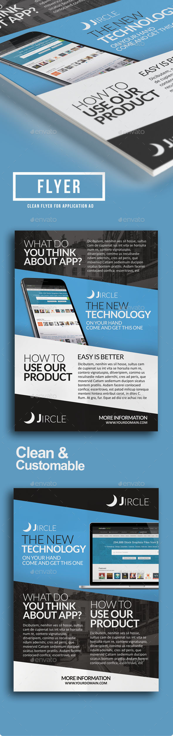 App Promotion Flyer - Commerce Flyers