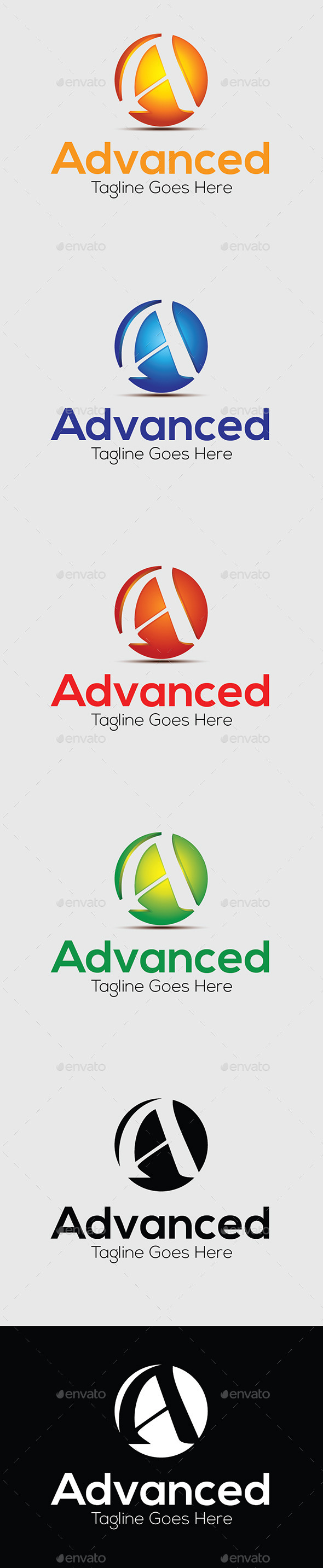 Advanced - Letters Logo Templates