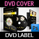 Wedding DVD Cover and DVD Label Template Vol.3 - GraphicRiver Item for Sale