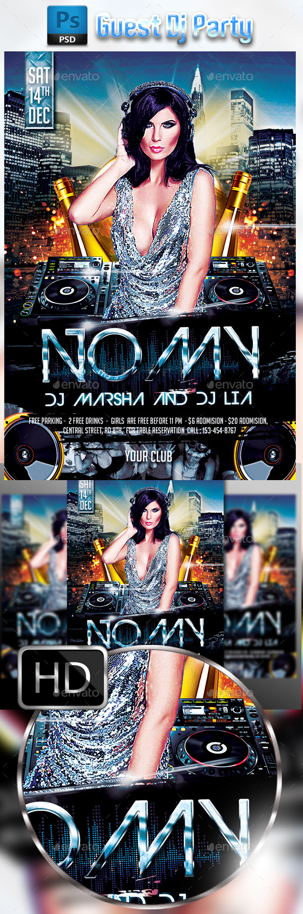 Guest Dj Party #2 - Clubs & Parties Events