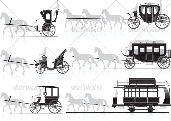 Horse Cart - Retro Technology