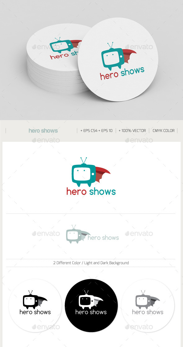 Hero Shows - Objects Logo Templates