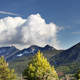 Clouds Mountain Range Pyrenees Landscape - VideoHive Item for Sale