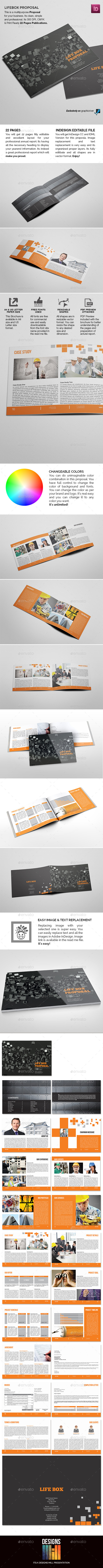 Lifebox Landscape Proposal  - Proposals & Invoices Stationery