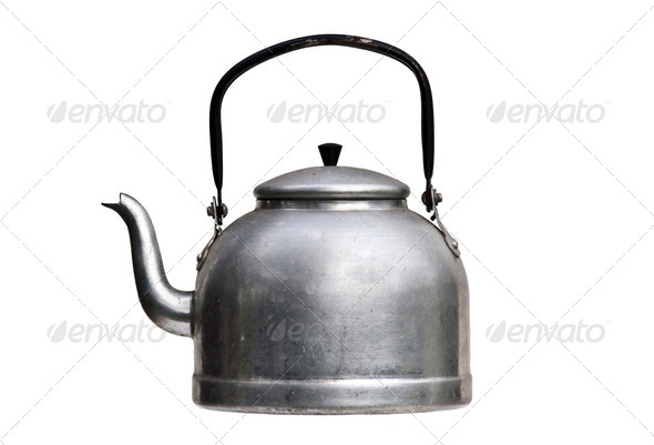 tea pot - Stock Photo - Images