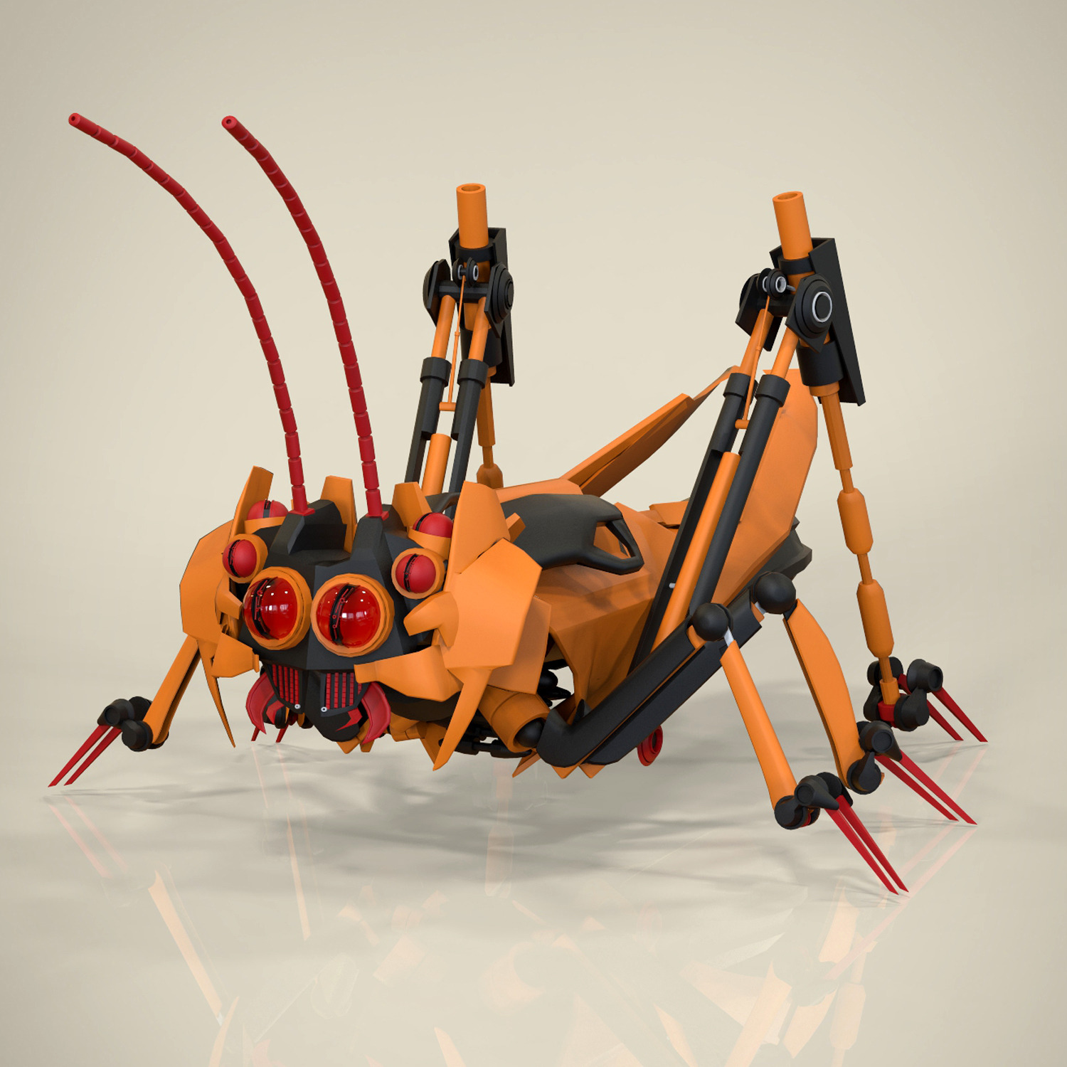 Robotic Grasshopper
