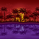 Jungle Sunset - GraphicRiver Item for Sale