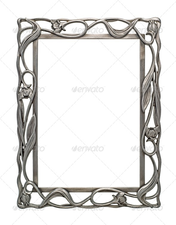 Blank Picture Frame - Stock Photo - Images