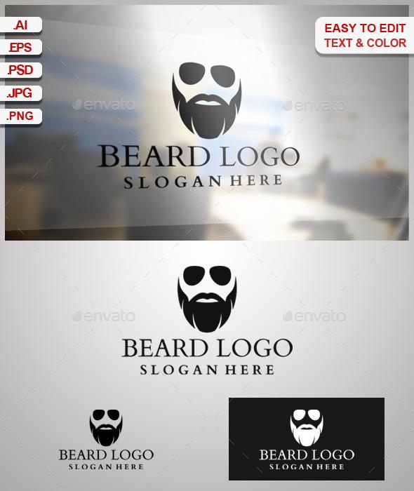 Beard Logo - Humans Logo Templates