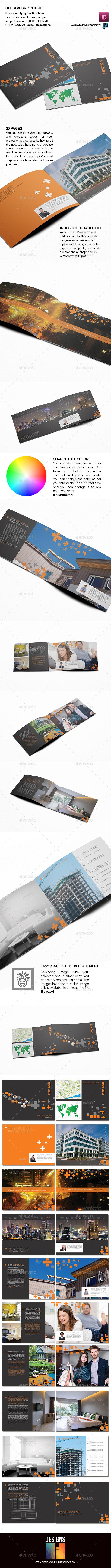 Lifebox Landscape Brochure - Corporate Brochures