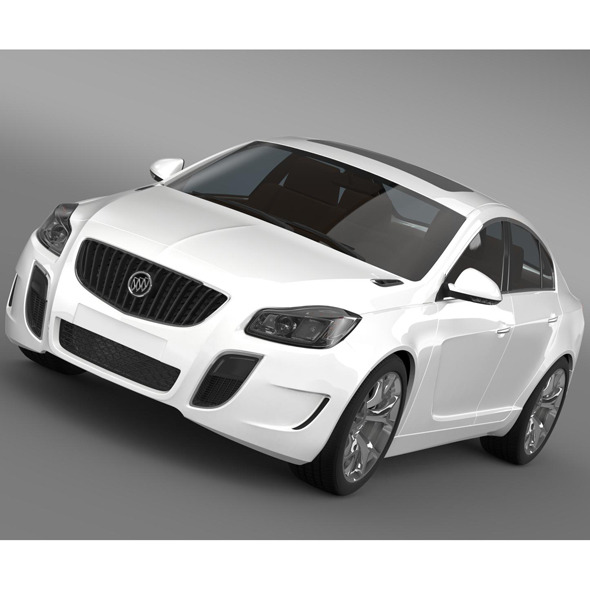 Buick Regal GS 2011-2013 - 3DOcean Item for Sale