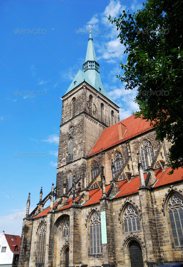 St. Andreas church - Stock Photo - Images