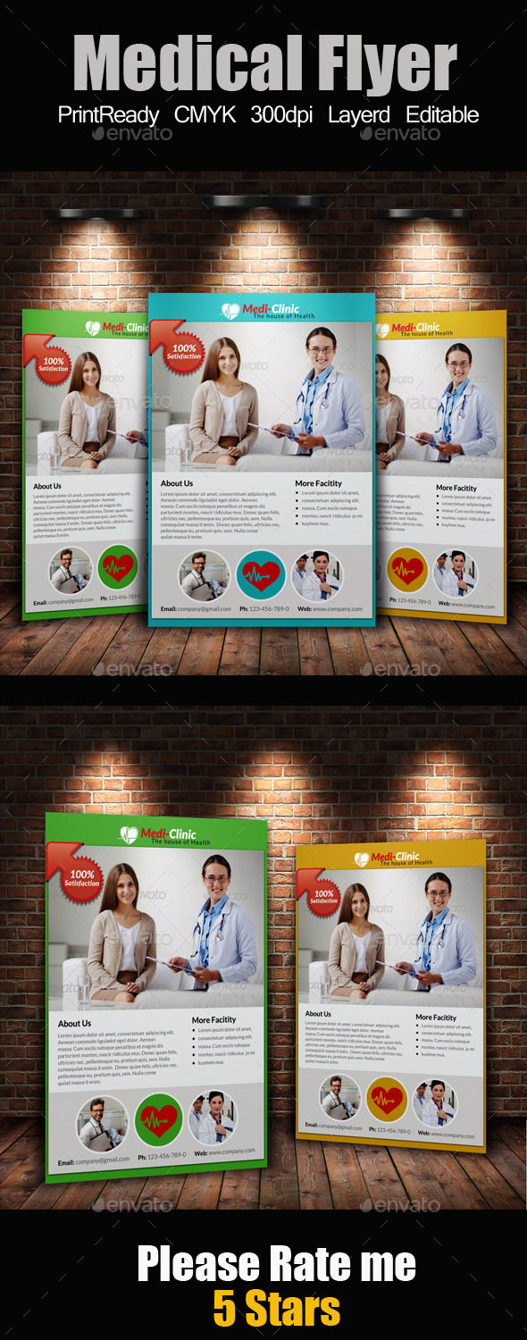 A4 Medical Flyer - Corporate Flyers