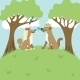 Dogs on a Romantic Appointment - GraphicRiver Item for Sale