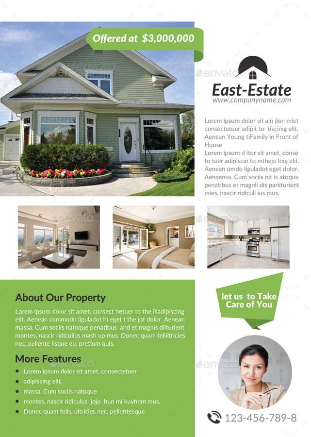 A4 Real Estate Flyer