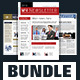 Indesign Newsletter Template Design Bundle - GraphicRiver Item for Sale
