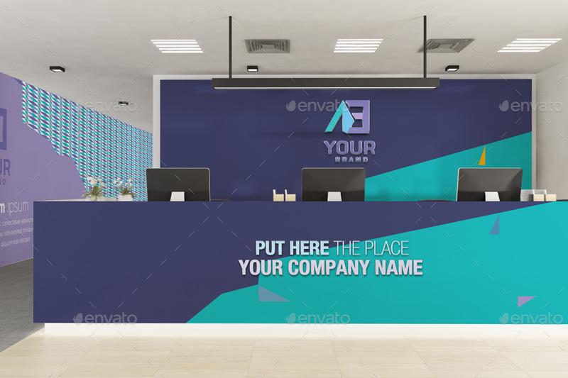 Office branding mockup v2 by wutip graphicriver for Office branding ideas