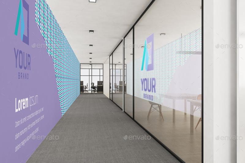 Office Branding Mockup V2 by Wutip | GraphicRiver